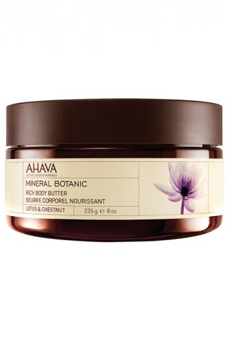 Ahava Mineral Botanic  Насыщенное масло для тела Лотос и благородный каштан 235 гр