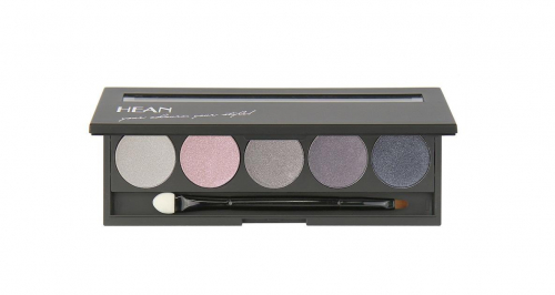 тени для век 5 HD magnetic palette with an applicator - Smokey de luxe 503