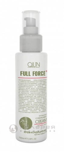 OLLIN FULL FORCE БАМБУК Крем - кондиционер против ломкости 100мл/725645,