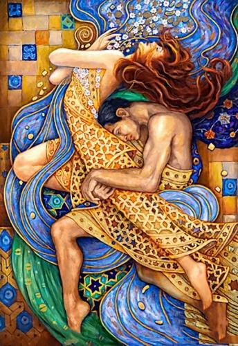 Алмазная мозайка: Во власти страсти