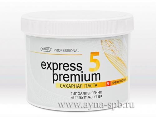 Паста для шугаринга без разогрева EXPRESS PREMIUM №5, очень плотная