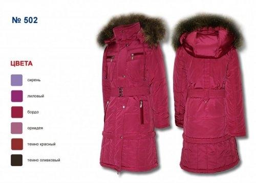 Пальто утепленное для девочки (темно оливковый)
