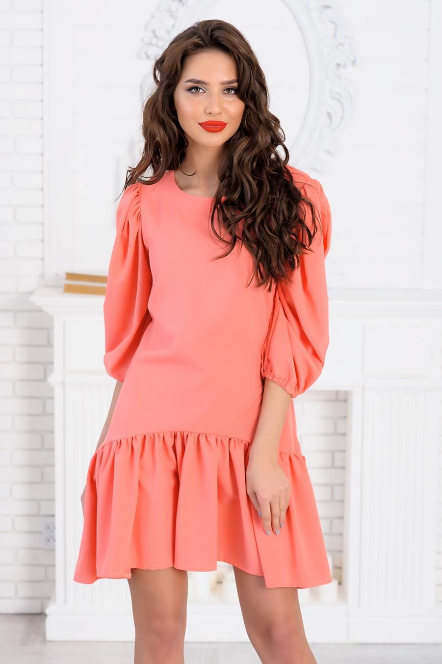 время модные широкие платья фото с рюшками приложение