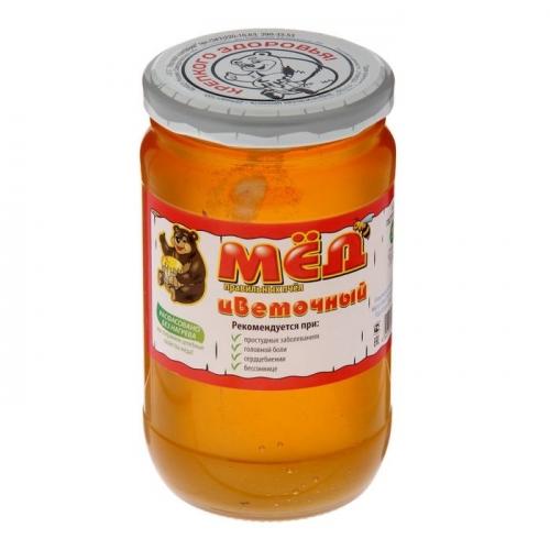 Мёд натуральный 500 г (стекло)