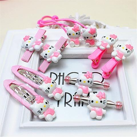 &nbsp199 &nbsp99 руб!Комплект заколочек Hello Kitty SHP 005 розовый