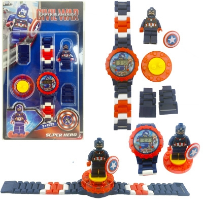 В наличии Легочасы Superheroes капитан Америка