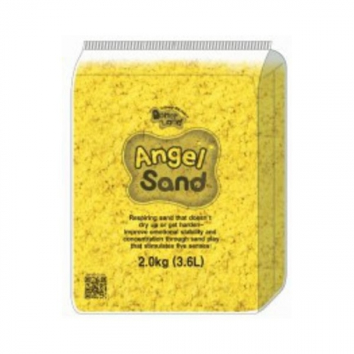 Песок для творчества Angel Sand, 2 кг, цвет желтый MA10012
