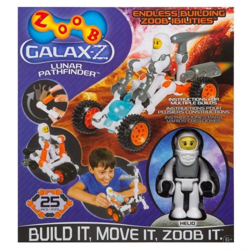 Конструктор Zoob Galax-Z. Луноход 16 деталей 160210-3