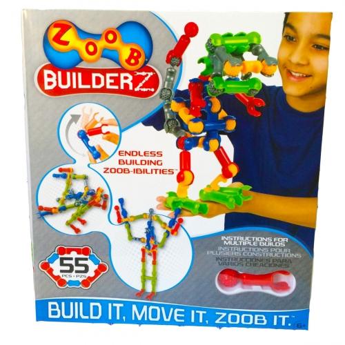 Конструктор Zoob, 55 деталей 11055