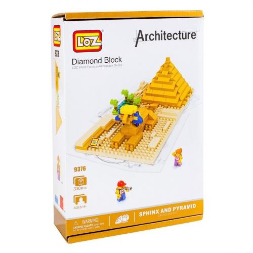 Конструктор Loz. Серия: Архитектура. Сфинкс 9376