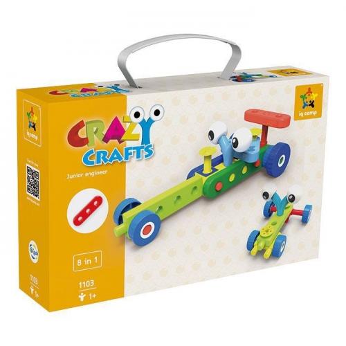Конструктор Gigo Junior engineer - crazy crafts (Гиго. Юный инженер - cумасшедшие штучки) 1103