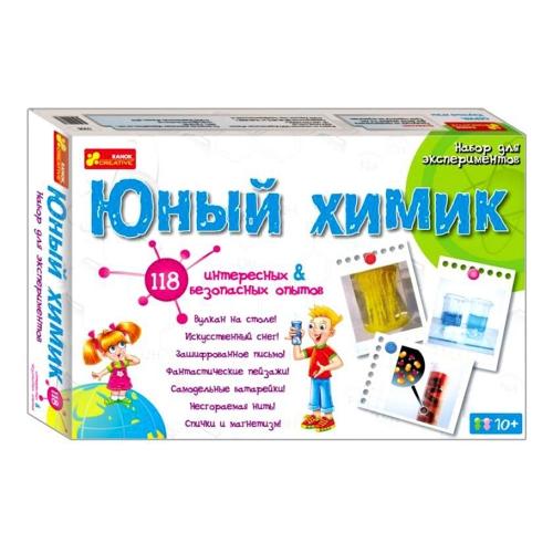 Научная игра Юный химик 12114001Р