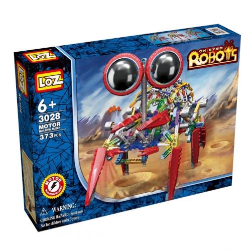 Электромеханический конструктор iRobot. Серия: Роботы. Крабс 3028