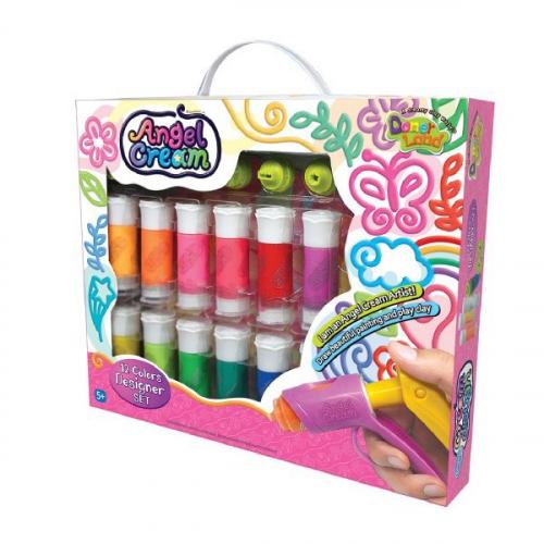 Набор для рисования Angel Cream Дизайнер, 12 цветов CD20011