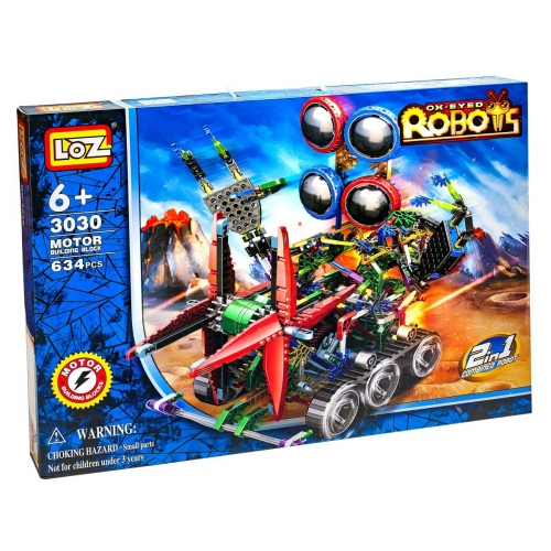 Электромеханический конструктор IRobot. Серия: Роботы. Четырёхглазик 3030