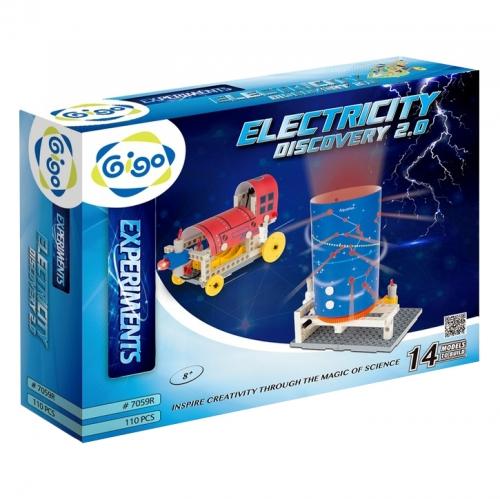 Конструктор Gigo Electricity discovery (Гиго. Электрическая энергия 2.0) 7059R