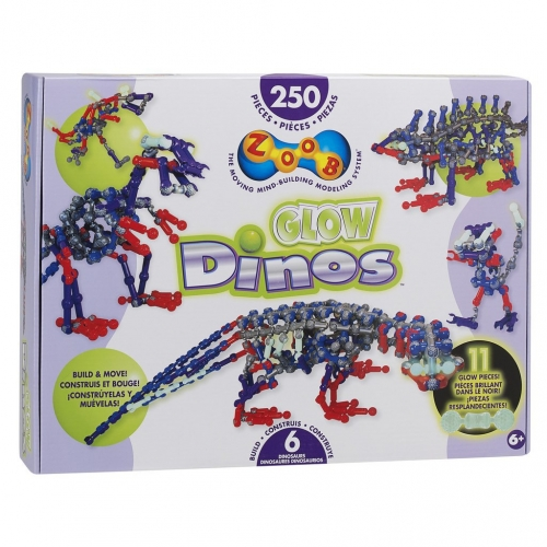 Конструктор Zoob Glow. Динозавры 14004