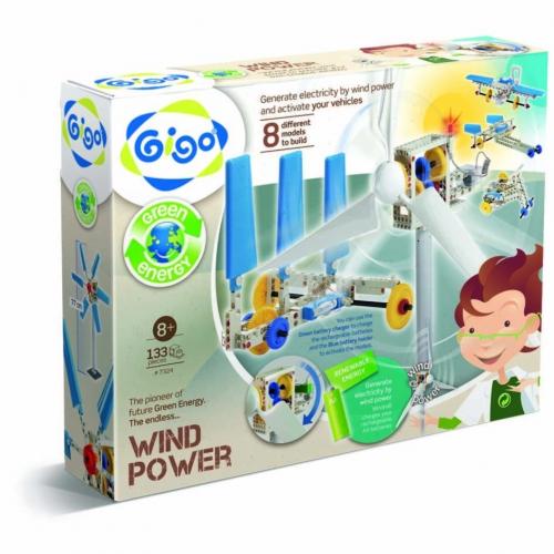 Конструктор Gigo Wind-power (Гиго. Энергия ветра) 7324
