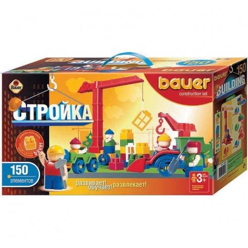 Конструктор Bauer серии Стройка, 150 элементов 202