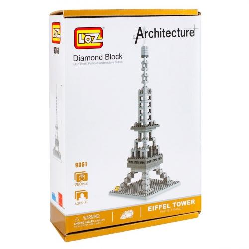 Конструктор Loz. Серия: Архитектура. Эйфелева башня 9361