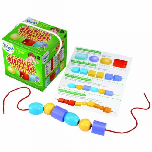 Конструктор Gigo Lacing jumbo beads (Гиго. Шнуровка-Большие бусы) 1201