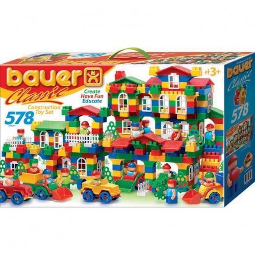 Конструктор Bauer серии Сlassic, 578 элементов 201