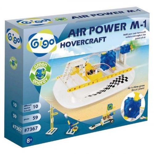 Конструктор Gigo Air power kit (Гиго. Катер на воздушной подушке М-1) 7367