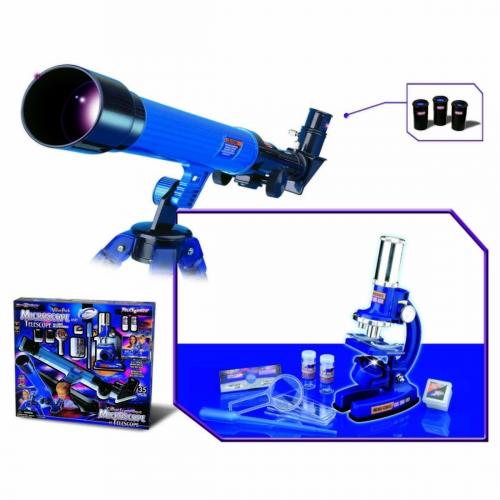 Набор для исследований Телескоп и микроскоп, 35 предметов 2035