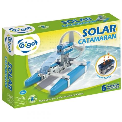 Конструктор Gigo Solar Catamaran (Гиго. Катамаран на солнечной энергии) 7398