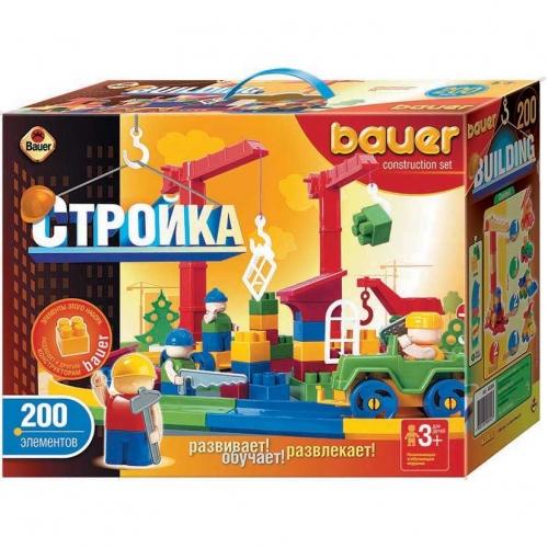 Конструктор Bauer серии Стройка, 200 элементов 203