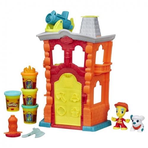 Набор пластилина Play-Doh Пожарная станция B3415
