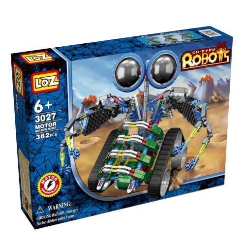 Электромеханический конструктор iRobot. Серия: Роботы. МотоЛокатор 3027