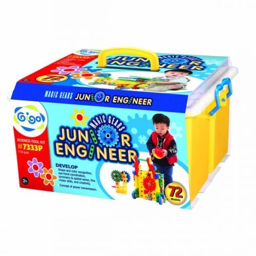 Конструктор Gigo Junior engineer - magic gears (Гиго. Юный инженер - волшебные шестерни 2) 7333P