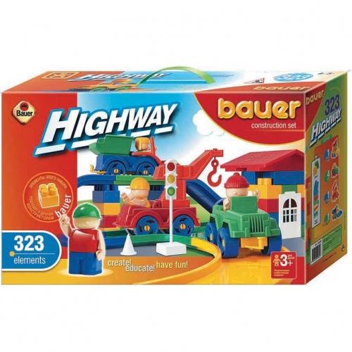 Конструктор Bauer серии Автодорога, 323 элемента 251