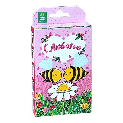 Подарочный набор для выращивания Живая открытка С любовью! hps-221