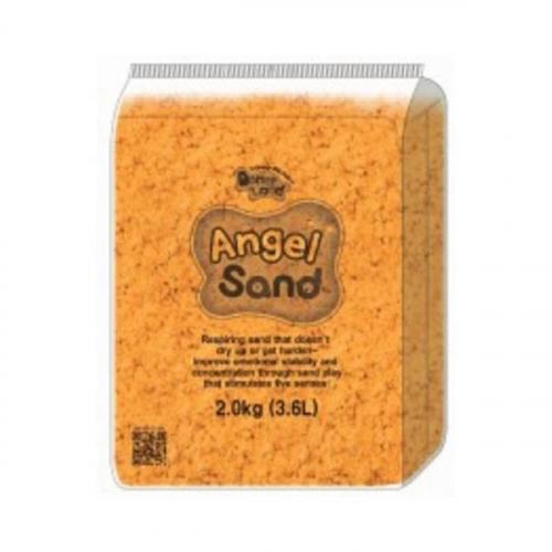 Песок для творчества Angel Sand, 2 кг, цвет оранжевый MA10013