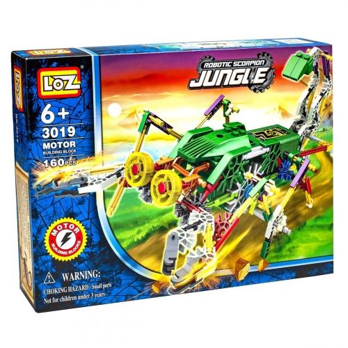 Электромеханический конструктор IRobot. Серия: Джунгли. Скорпионозавр 3019