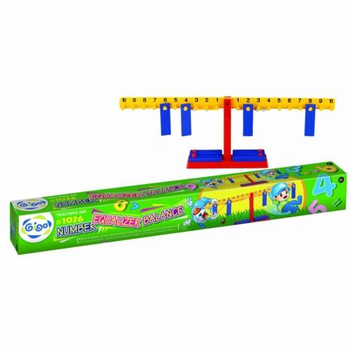 Конструктор Gigo Number equalizer balance (Гиго. Математические весы) 1026