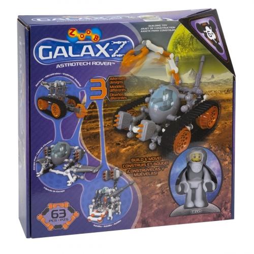 Конструктор Zoob Galaxy-Z. Astrotech Rover 16020