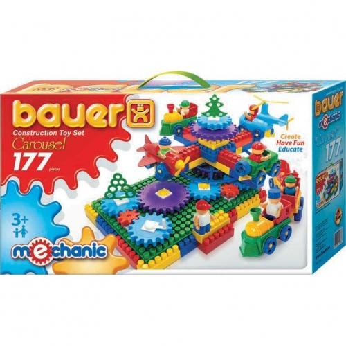 Конструктор Bauer серии Mechanic Карусель, 177 элементов 186