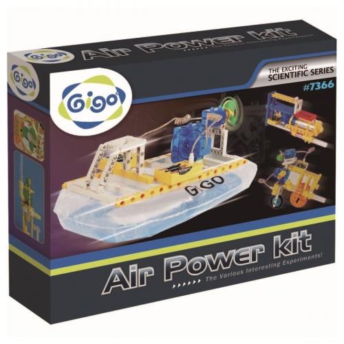 Конструктор Gigo Air power experiment kit (Гиго. Катер на воздушной подушке) 7366