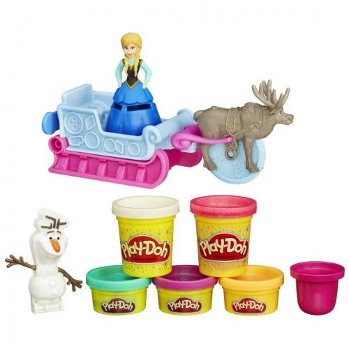 Набор пластилина Play-Doh Холодное Сердце B1860
