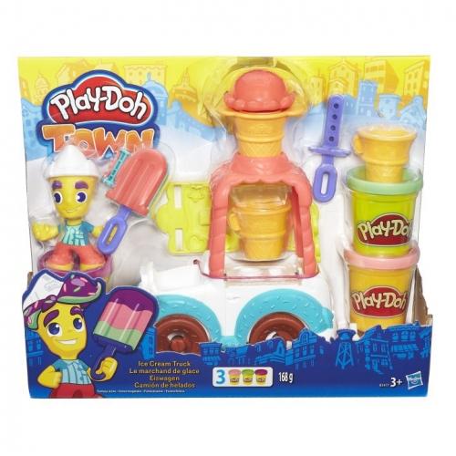Набор пластилина Play-Doh Грузовичок с мороженым B3417