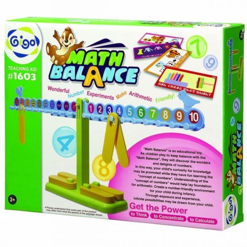 Конструктор Gigo Math balance (Гиго. Занимательные весы) 1603