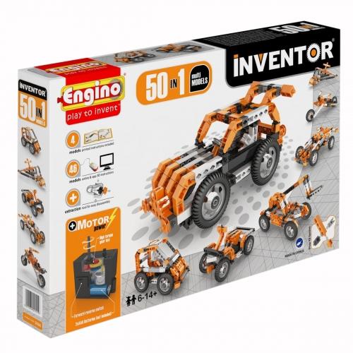Конструктор INVENTOR, 50 моделей, с мотором 5030