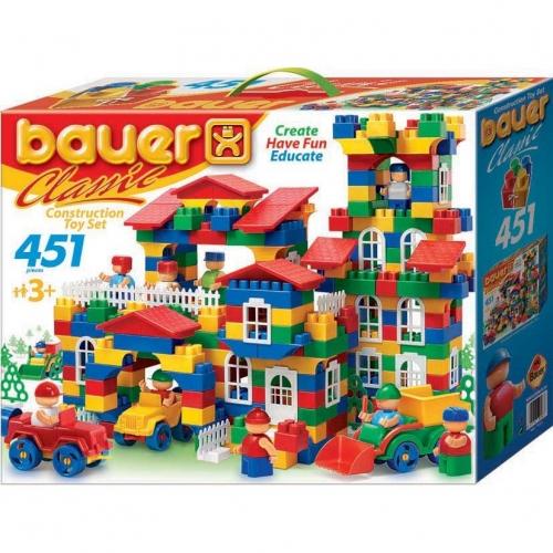 Конструктор Bauer серии Сlassic, 451 элемент 200