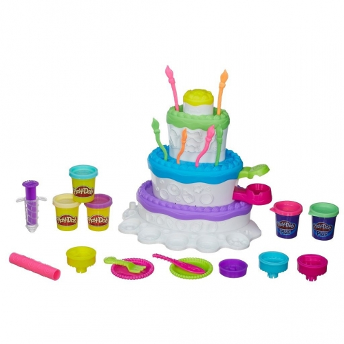 Набор пластилина Play-Doh Праздничный торт A7401