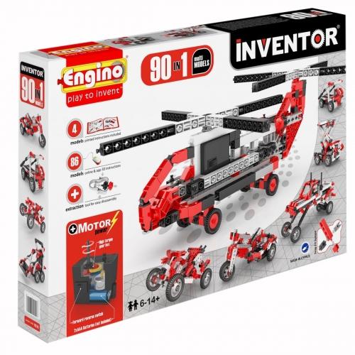 Конструктор INVENTOR, 90 моделей, с мотором 9030