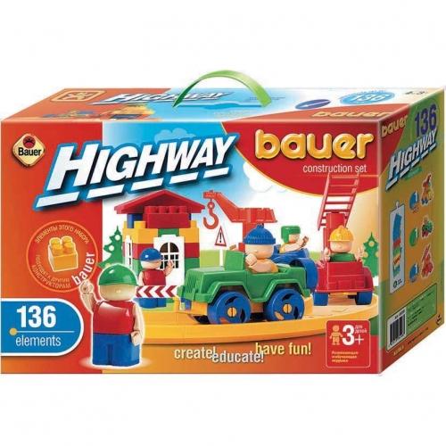Конструктор Bauer серии Автодорога, 136 элементов 248