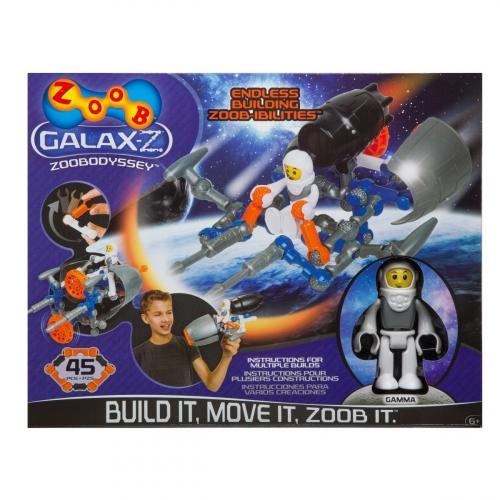 Конструктор Zoob Galax-Z. Одиссей 34 деталей 160220-3